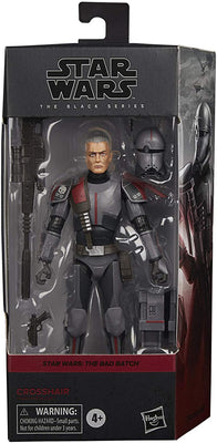 Star Wars The Black Series Box Art 6 Inch Action Figure Wave 4 - Bad Batch Crosshair