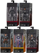 Star Wars The Black Series Box Art 6 Inch Action Figure Wave 4 - Set of 5