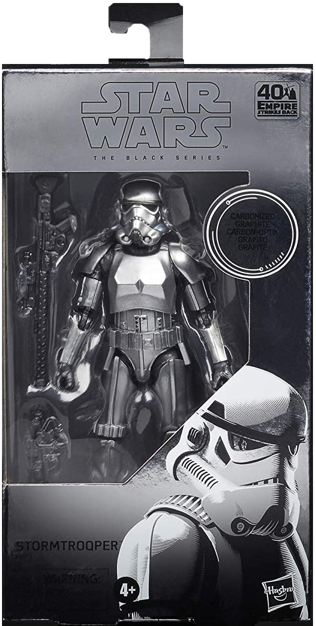 Star Wars The Black Series 6 Inch Action Figure Exclusive - Carbonized Stormtrooper