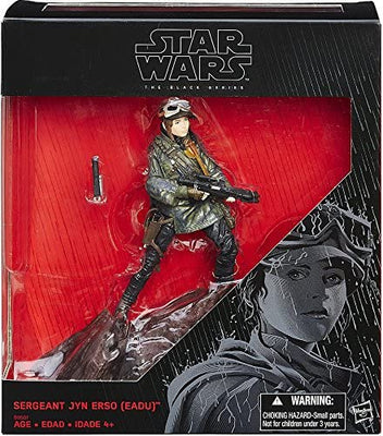 Star Wars The Black Series 6 Inch Action Figure Exclusive - Sergeant Jyn Erso Eadu