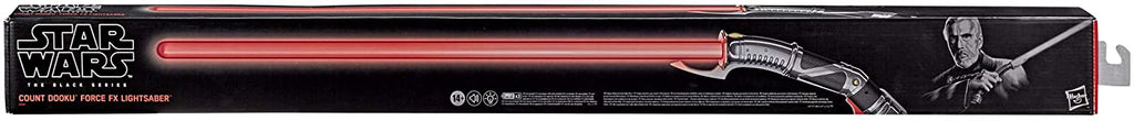 Star Wars The Black Series Life Size Lightsaber Force FX Lightsaber - Count Dooku Lightsaber