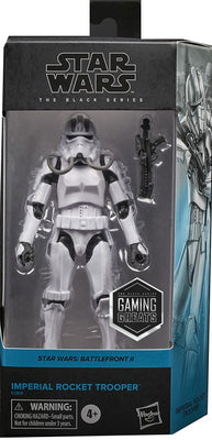 Star Wars The Black Series Gaming Greats 6 Inch Action Figure Box Art Exclusive - Imperial Rocket Trooper