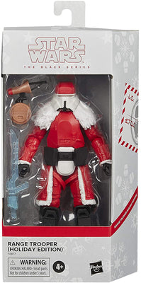Star Wars The Black Series 6 Inch Action Figure Holiday Edition Exclusive - Range Trooper (Red)
