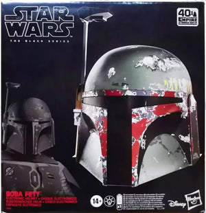 Star Wars The Black Series Life Size Prop Replica - Boba Fett Battle Damaged Electronic Helmet
