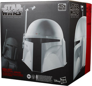 Star Wars The Black Series Life Size Prop Replica - Boba Fett Prototype Armor Electronic Helmet