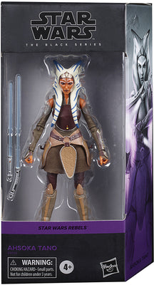 Star Wars The Black Series 6 Inch Action Figure Rebels Series - Ahsoka Tano