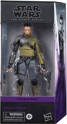 Star Wars The Black Series 6 Inch Action Figure Rebels Series - Kanan Jarrus