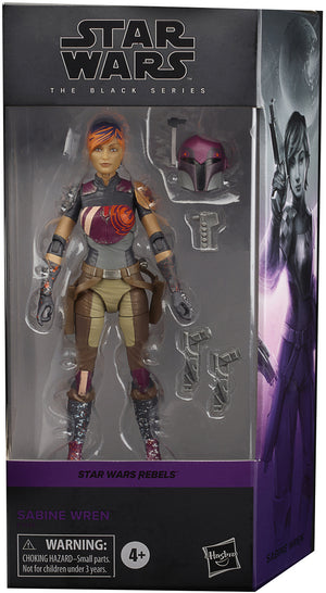Star Wars The Black Series 6 Inch Action Figure Rebels Series - Sabine Wren