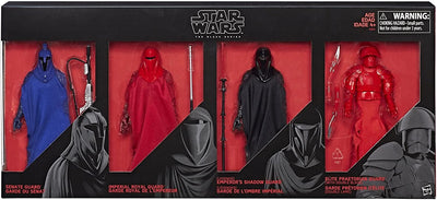 Star Wars The Black Series 6 Inch Action Figure Red Box Set - Guard 4-Pack