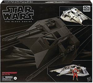 Star Wars The Black Series 6 Inch Vehicle Series - Snowspeeder with Dak Ralter