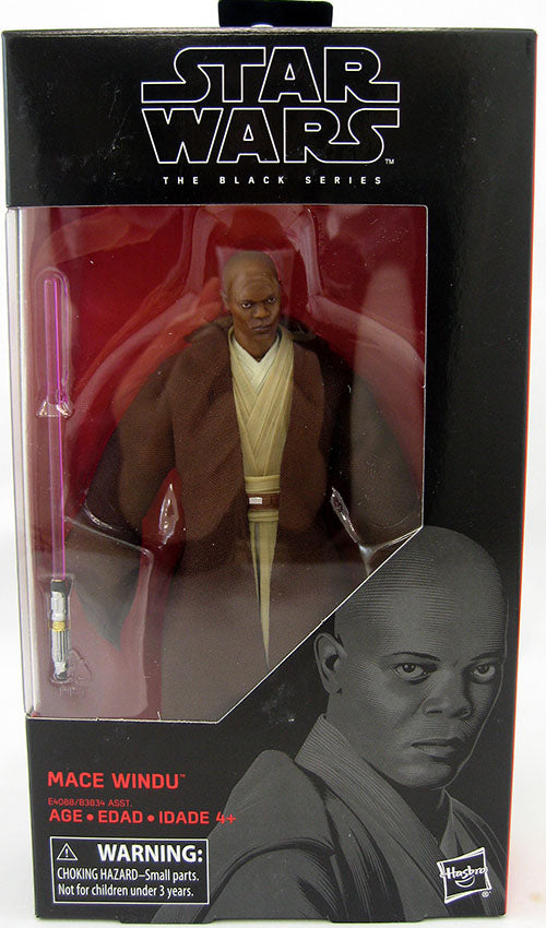 Star Wars The Black Series 6 Inch Action Figure Wave 31 - Mace Windu #82
