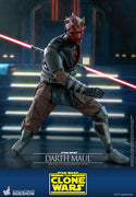 Star Wars The Clone Wars 12 Inch Action Figure 1/6 Scale - Darth Maul Hot Toys 907130