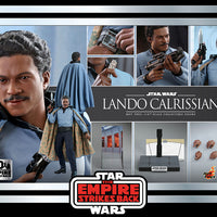 Star Wars The Empire Strikes Back 12 Inch Action Figure 1/6 Scale - Lando Calrissian Hot Toys 907059