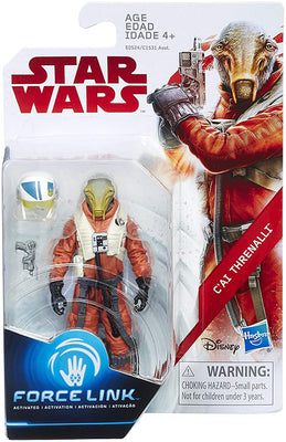 Star Wars The Last Jedi 3.75 Inch Action Figure Force Link - C'Ai Threnalli