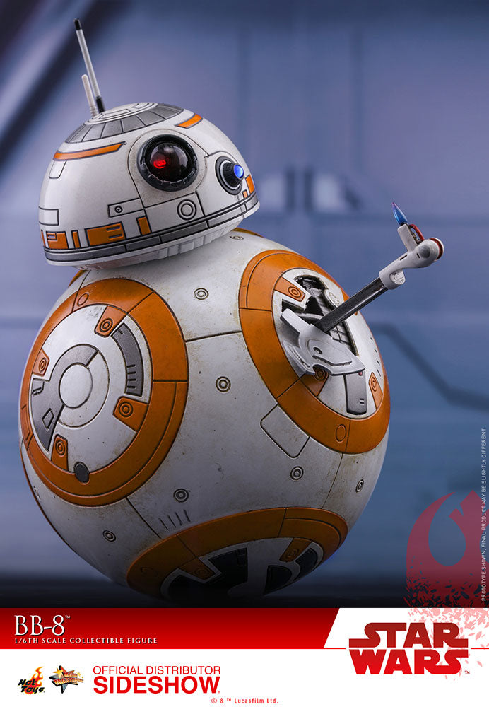 Star Wars The Last Jedi 4 Inch Action Figure Movie Masterpiece 1/6 Scale - BB-8 Hot Toys 903188