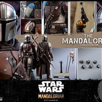 Star Wars The Mandalorian 12 Inch Action Figure 1/6 Scale Series - The Mandalorian Hot Toys 905333