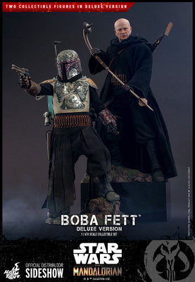 Star Wars The Mandalorian 12 Inch Action Figure 1/6 Scale - Boba Fett Deluxe Version