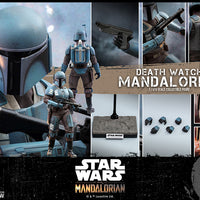 Star Wars The Mandalorian 12 Inch Action Figure 1/6 Scale - Death Watch Mandalorian Hot Toys 907141