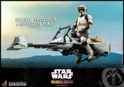 Star Wars The Mandalorian 12 Inch Action Figure 1/6 Scale Series - Scout Trooper and Speeder Bike Hot Toys 906340