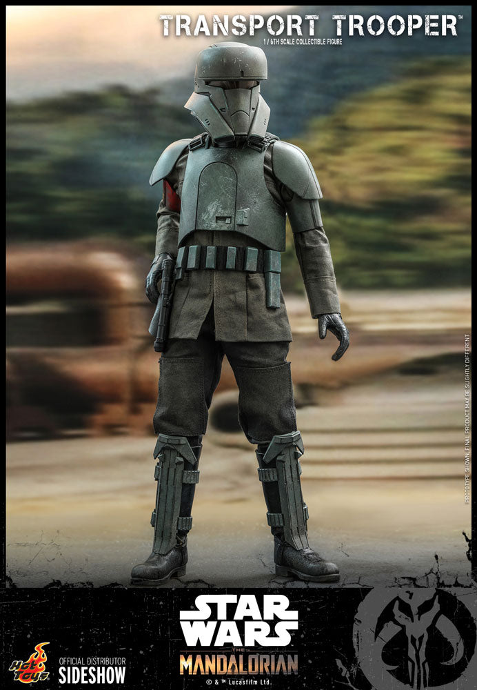 Star Wars The Mandalorian 12 Inch Action Figure 1/6 Scale - Transport Trooper Hot Toys 907512