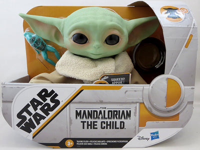 Star Wars The Mandalorian 7 Inch Plush Figure Star Wars Collection Series - The Child (Baby Yoda) Electronic Plush