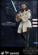 Star Wars The Phantom Menace 12 Inch Action Figure Movie Masterpiece 1/6 Scale Series - Qui-Gon Jinn Hot Toys 904580