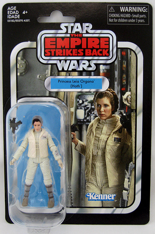 Star Wars The Vintage Collction 3.75 Inch Action Figure (2019 Wave 2) - Princess Leia Organa (Hoth) VC02 Reissue