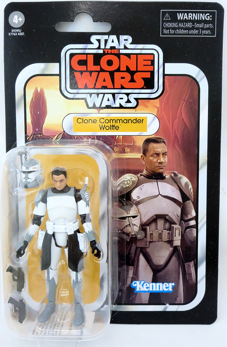 Star Wars The Vintage Collection 3.75 Inch Action Figure (2020 Wave 5) - Clone Commander Wolffe VC168