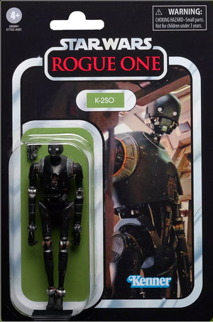 Star Wars The Vintage Collection 3.75 Inch Action Figure (2020 Wave 5) - K2-SO VC167