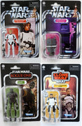 Star Wars The Vintage Collection 3.75 Inch Action Figure (2020 Wave 5) - Set of 4 (VC167 - VC170)