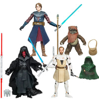Star Wars The Vintage Collection 3.75 Inch Action Figure (2020 Wave 7) - Set of 4 (VC27 - VC86 - VC92 - VC103)