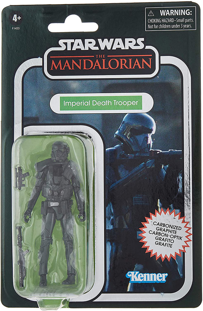 Star Wars The Vintage Collection 3.75 Inch Action Figure Exclusive - Carbonized Imperial Death Trooper