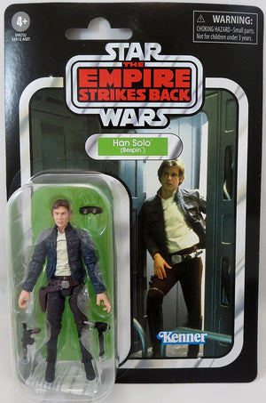 Star Wars The Vintage Collection 3.75 Inch Action Figure (2020 Wave 4) - Han Solo Bespin VC50