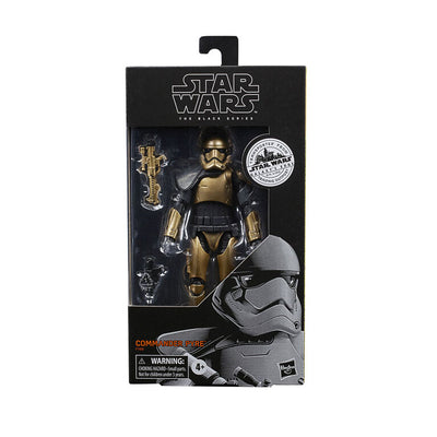 Star Wars The Black Series Galaxy's Edge 6 Inch Action Figure Exclusive - Commander Pyre