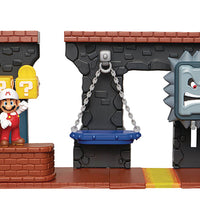 Super Mario 2 Inch Playset World Of Nintendo - Deluxe Dungeon Playset