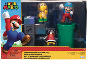 Super Mario World Of Nintendo 2.5 Inch Action Figure Diorama Set - Underground Set