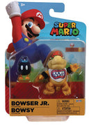 Super Mario World Of Nintendo 4 Inch Action Figure Wave 21 - Bowser Jr