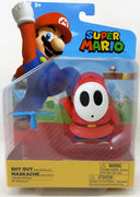 Super Mario World Of Nintendo 4 Inch Action Figure Wave 22 - Shy Guy with Propeller