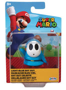 Super Mario 2.5 Inch Mini Figure World Of Nintendo Wave 25 - Light Blue Shy Guy