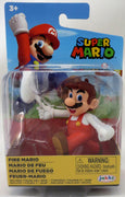 Super Mario World Of Nintendo 2 Inch Mini Figure Wave 26 - Fire tipping hat Mario