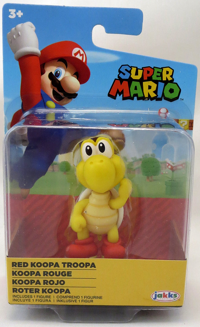 Super Mario World Of Nintendo 2 Inch Mini Figure Wave 26 - Koopa Troopa