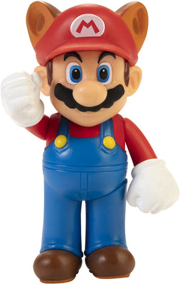 Super Mario World Of Nintendo 2 Inch Mini Figure Wave 26 - Raccoon Mario