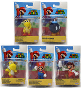 Super Mario World Of Nintendo 2 Inch Mini Figure Wave 26 - Set of 5
