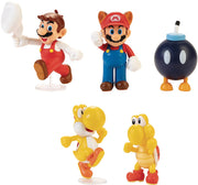 Super Mario World Of Nintendo 2 Inch Mini Figure Wave 26 - Set of 4