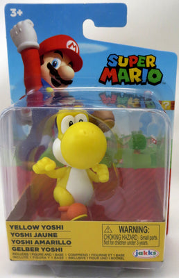 Super Mario World Of Nintendo 2 Inch Mini Figure Wave 26 - Yellow Yoshi