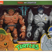 Teenage Mutant Ninja Turtles 1980 Cartoon 7 Inch Action Figure Exclusive - Traag and Granitor 2-Pack