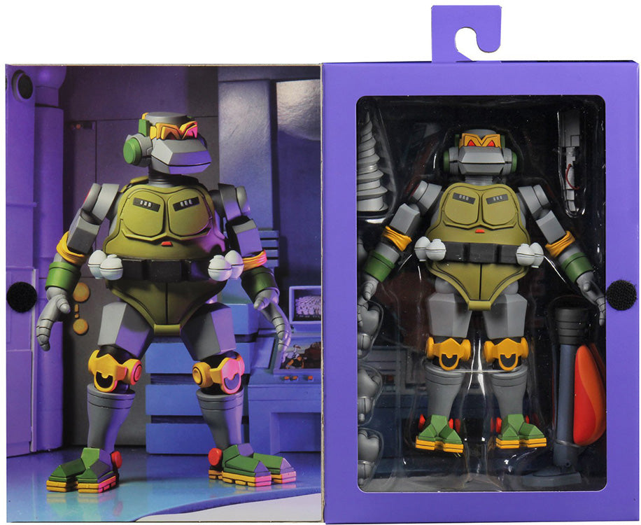 Teenage Mutant Ninja Turtles 7 Inch Action Figure 1980 Cartoon Series - Metalhead