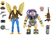 Teenage Mutant Ninja Turtles 1990 Cartoon 7 Inch Action Figure 2-Pack - Duck & Mutagen