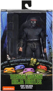 Teenage Mutant Ninja Turtles 7 Inch Action Figure 1990 Movie Series - Foot Soldier Melee