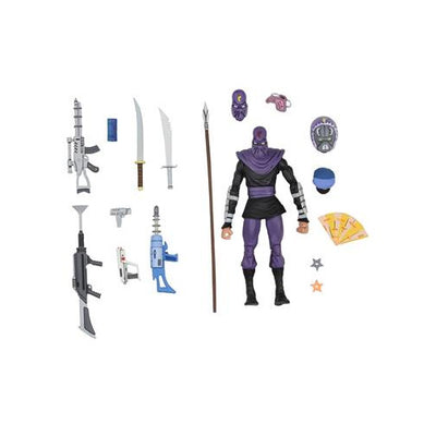 Teenage Mutant Ninja Turtles Cartoon Series 7 Inch Action Figure Deluxe - Foot Soldier
